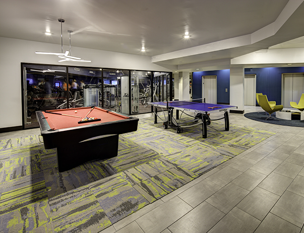 Game Room at The Tower at Third