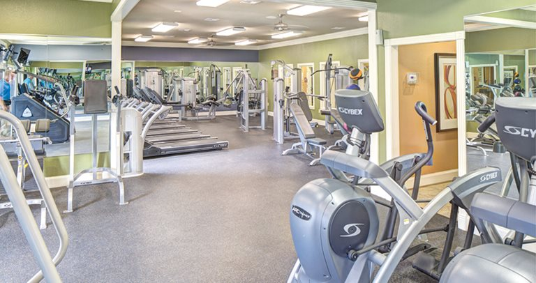 Fitness Center at University Pointe in Lubbock, TX near Texas Tech University