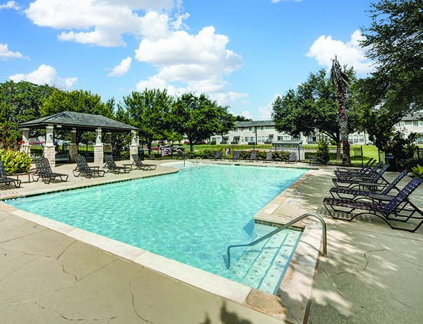 apartments near campus san marcos tx. tx swimming pool and sundeck at bishops square near texas state university in san marcos, apartments campus marcos tx