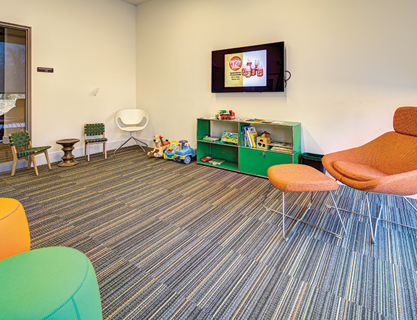 Playroom at Lakeside Graduate Housing