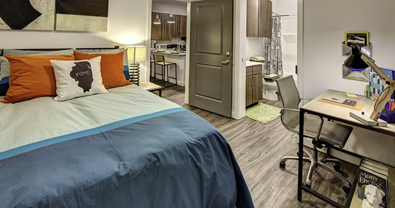 The Suites At Third Student Housing Champaign Il