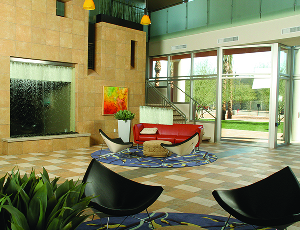 Lobby lounge at Vista del Sol & Villas at Vista del Sol