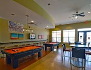 Game room at Independence Place Apartments