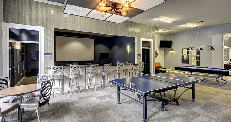 Game room at  5 Twenty Four & 5 Twenty Five Angilana