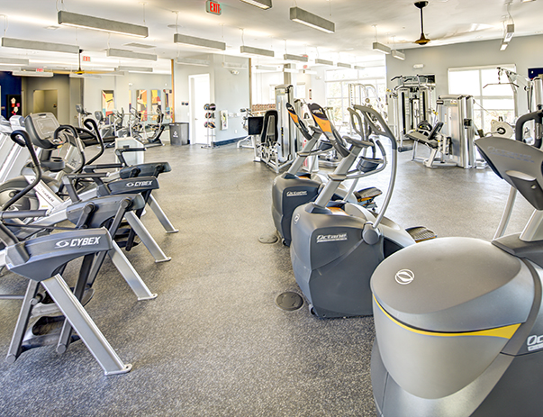 24-hour, state-of-the-art fitness center at 160 Ross